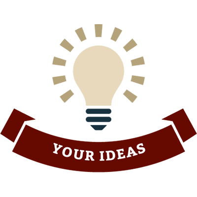 Your Ideas Lightbulb Icon